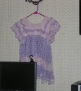 One of my handmade crochet dresses for toddlers.
