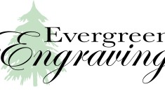 Evergreen Engraving